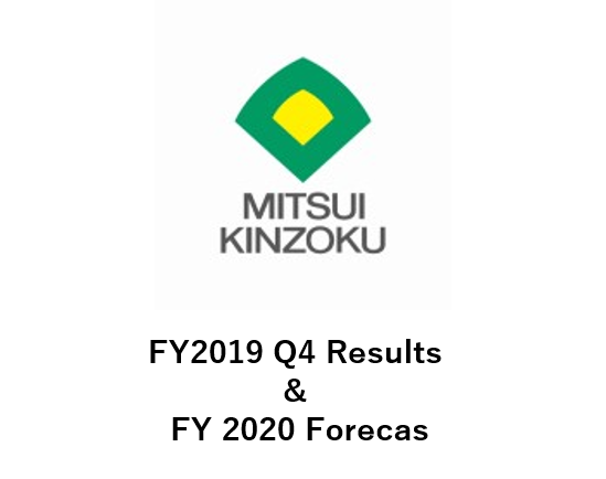 FY2019 Q4 Results & FY 2020 Forecast
