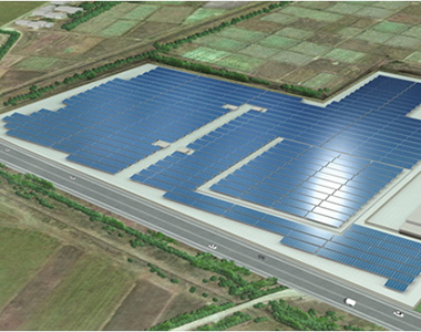 Construction Underway on Mega Solar Project in the Miike Area