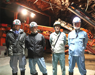 Kamioka Mining and smelting Co., ltd. Supported Geo Space Adventure