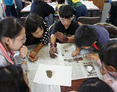 Mitsui Kushikino Mining Co., ltd. supported field trip of local students